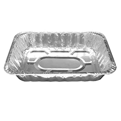 Party Essentials F1713 Half Size Deep Foil Steam Table Pan (Case of 1)