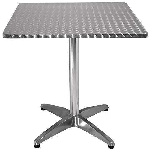 Bolero Square Bistro Table 720X700X700mm Restaurant Bar CafпїЅ Commercial Dining