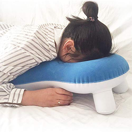 PINGJIA Head Shoulder Support Pillows, Height Adjustable Face Down Cushion for Retinal Detachment Patients During Recovery Retina Lying Pillow