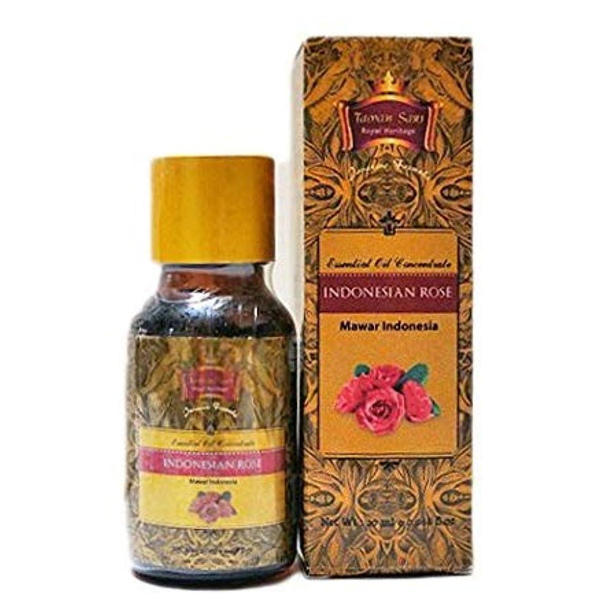 ウィンク動員するお別れTaman Sari タマンサリ エッセンシャルオイル ムスティカラトゥ高級スパブランド Indonesian Rose インドネシアローズ 20ml