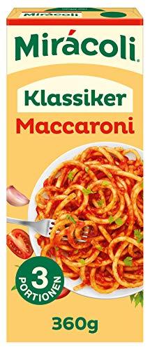 Mirácoli Fertiggerichte Maccaroni mit Tomatensauce 3 Portionen, 360g
