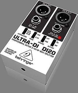 موزع ألترا-دي DI20 ثنائي القناتين من بيهرينغر