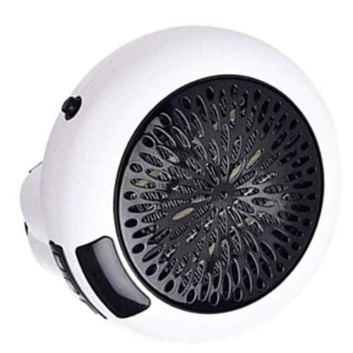 XIANGAI Stufetta Piccoli elettrodomestici elettrica Portatile Mini Ventilatore riscaldatore Desktop Domestici Parete Handy Riscaldamento Stufa Radiatore Warmer mA.(Colore: Bianco), Colore: Bianco