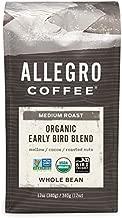 Allegro Coffee Organic Early Bird Blend Whole Bean Coffee, 12 oz