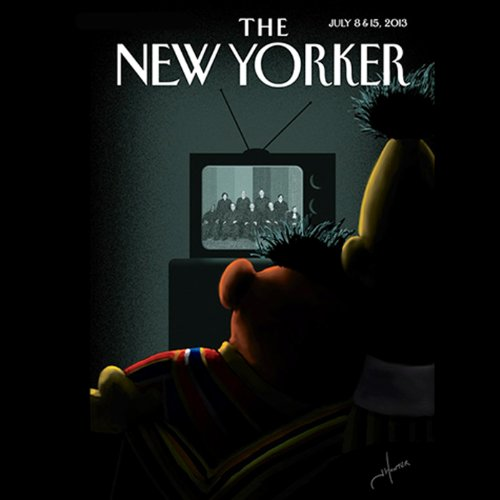 The New Yorker, July 8th & 15th 2013: Part 1 (Patrick Radden Keefe, Louis Menand, Jeffrey Toobin) copertina