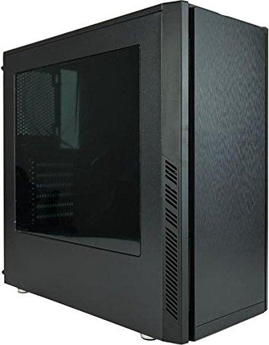 MS-Tech CA-0335 computer case Midi-Tower Nero