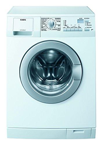 AEG L6470AFL Waschmaschine Frontlader / Energieklasse A+++ (17,0 kWh/Jahr) / sparsamer Waschautomat mit großer Programmvielfalt und LCD-Anzeige / freistehende Waschmaschine mit 7 kg Trommel / weiß