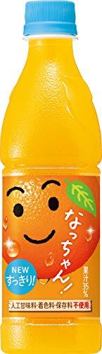 サントリー なっちゃん オレンジ425ml(冷凍兼用)×24本
