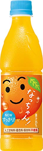 なっちゃん オレンジ 425ml×24本 PET