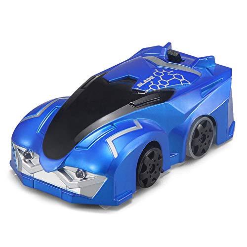 Coche teledirigido, coche de pared que sube, juguete de los niños, barco teledirigido Q6, coche de la pared de escalada del juguete eléctrico del control remoto, coche de la deriva que sube,Blue