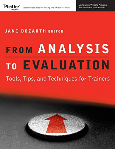From Analysis To Evaluation Tools Tips And Techniques For Trainers