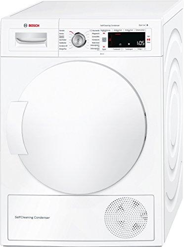Bosch WTW845W0 Serie 8 Wärmepumpen-Trockner / A+++ / 176 kWh/Jahr / 8 kg / Weiß / AutoDry / SelfCleaning Condenser™ / SensitiveDrying System