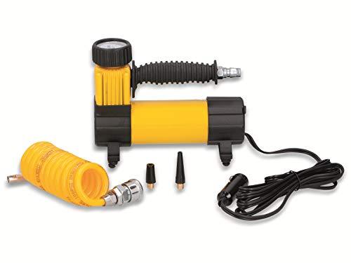 Dunlop Automotive - Mini-Kompressor 12 Volt - Betrieb über Zigarettenanzünder Auto