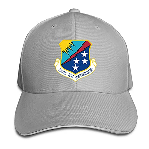 Hdadwy Air Force 67th Intelligence Wing Vinyl Transfer Unisex Gorra de béisbol Transpirable Gorra de sándwich de Casquette Ajustable