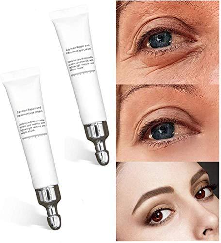 Magic Eye Cream-28 Seconds to Remove Eye Bags Dark Circles, Magic Eye Cream pour les rides, crème anti-âge pour les yeux, crème anti-rides pour les yeux (2 pcs)