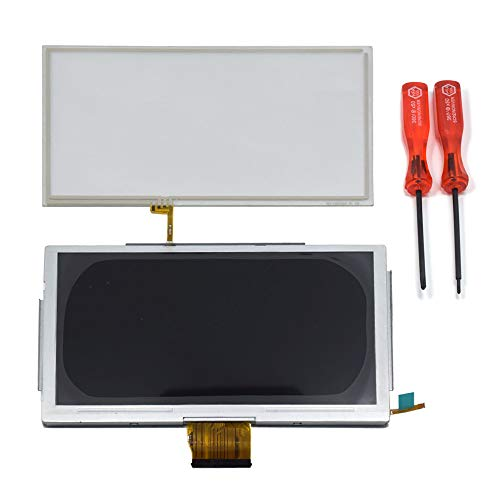 TOMSIN Replacement LCD Display & Touch Screen Glass Digitizer Repair Part for Nintendo Wii U GamePad