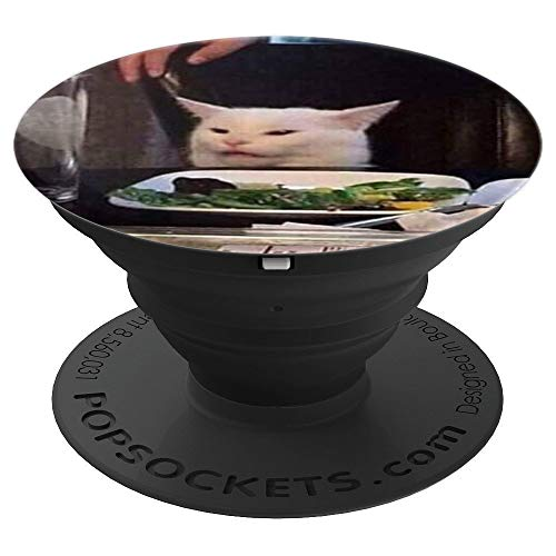Disgusted Cat PopSockets Grip and Stand for Phones and Tablets