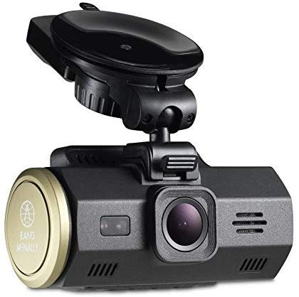Rand Mcnally Dash Cam 300 Super HD Camera (2560 x 1080) with Video and Lane Departure and Collision Warnings (Renewed)
