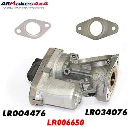 EXHAUST GAS RECIRCULATION VALVE W/GASKET DEFENDER LR006650 AM4x4