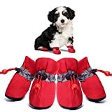 Dog Shoes for Hot Pavement Summer Boots Pet Paw...