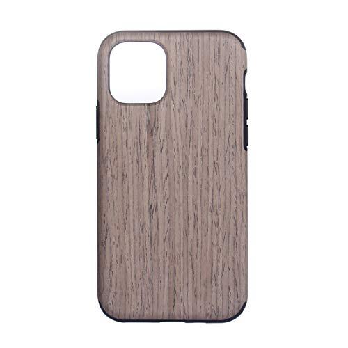 JIAHENG Caja del teléfono for iPhone 12 Pro Madera Textura de Madera TPU Funda Protectora Cubierta de Cuero (Color : Black Rose)