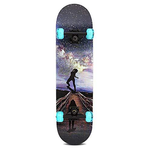 pas cher un bon Rollers flash pour enfants, skateboards à quatre roues à double pente…