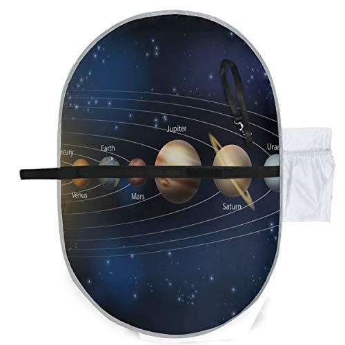 Une illustration des planètes de notre système solaire Matelas à langer Matelas à langer Portable 27x10 pouces Matelas Pliable Étanche Portable Matelas à langer Portable Matelas à langer Portable
