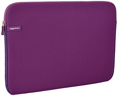 Amazon Basics Laptop-Schutzhülle, für eine Bildschirmdiagonale von 17,3Zoll, Lila
