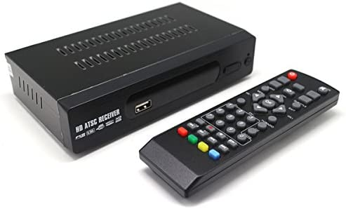 Digital Antenna ATSC TV Receiver For Local Air Channels W/IR Remote 1080p