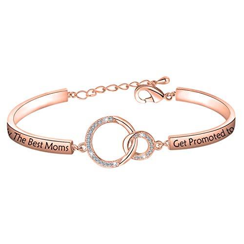 MYSOMY New Grandma Bracelet Only the Best Moms Get Promoted to Grandma...