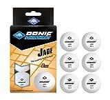 Donic-Schildkröt 618371 Pelota de Tenis de Mesa Jade, Blanco