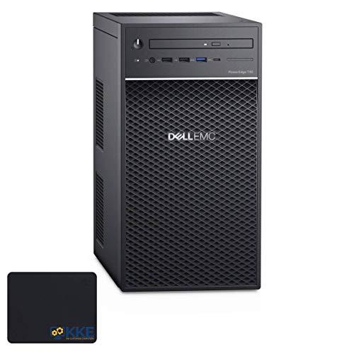Dell PowerEdge T40 Business Tower Server Desktop, Intel Xeon E-2224G Quad-Core Processor, 16GB DDR4 ECC UDIMM Memory, 1TB HDD + 1TB HDD, DVD-RW, DisplayPort, No HDMI, No Operating System, KKE Bundle