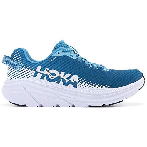 Tênis de corrida masculino HOKA ONE ONE Rincon 2 Road, Blue Moon White, 7.5