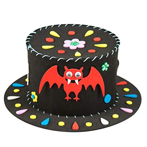 Bascar Lunettes d'Halloween pour enfants - Matériel de chapeau d'araignée - Monture amusante - Matériel pour la performance de mascarade