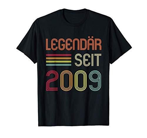 12. Geburtstag Legendär Seit 2009 Geschenk T-Shirt