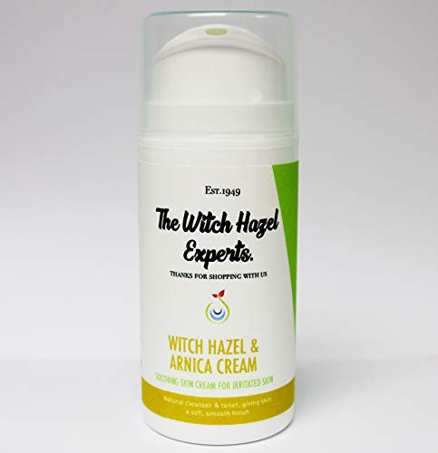 The Witch Hazel Experts | Witch Hazel & Arnica Oil Cream | Soothing Cream for Irritated Skin (50ml)