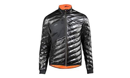 KTM Jacke Factory Team Herren schwarz Glanz mit Taschen + Key Holder, Größe:XL