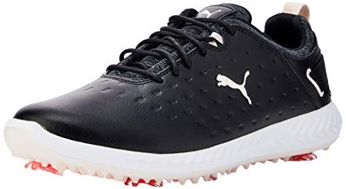PUMA Ignite Blaze Pro, Zapatos de Golf Mujer, Negro Black/Rosewater, 41 EU