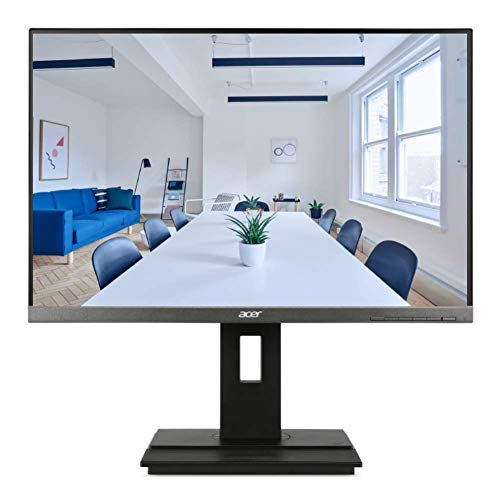 Acer B246WL 24-inch IPS WUXGA 1920 x 1200 Monitor with Height Adjustment and Pivot USB 3.0 HUB - HDMI - Display Port - Stereo Speakers - 100% sRGB