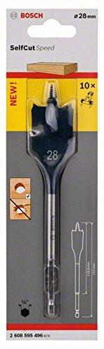 """Preisvergleich Produktbild Bosch Professional Flachfräsbohrer Self Cut Speed mit 1 / 4""""-Sechskantschaft (Ø 28 mm)"""