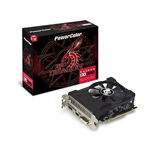 Gpu Amd Rx 550 2Gb Red Dragon Power Color Axrx 550 2Gbd5-Dha/Oc, Power Color, Axrx 550 2Gbd5-Dha/Oc