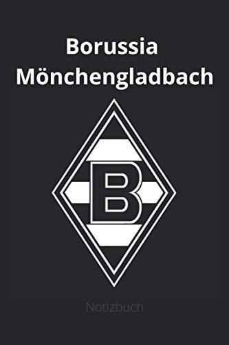 Borussia Mönchengladbach: Notizblock, Größe 6x9 mit 130 Seiten guter Qualität