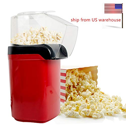 Best Deals! CARESHINE Popcorn Machine Hot Air Pop Popper Maker Small Tabletop Home Party Snack Ship ...
