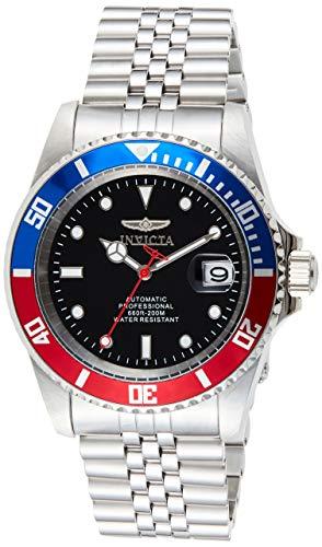 Invicta 29176 Pro Diver Reloj para Hombre acero inoxidable Automático Esfera negro