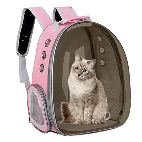 Bolsa Transporte para Gatos Bolsa Gato Transpirable Bolsa Transporte para Mascotas Mochila Viaje Perros pequeños al Aire Libre Transporte Mascotas...