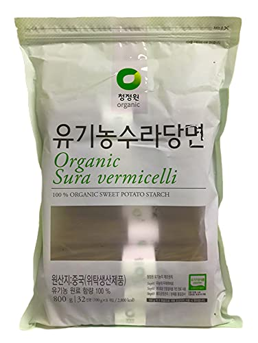 Chung Jung One Sura vermicelli Sweet Potato Glass Noodle 1.76 lbs(Pack of 1)