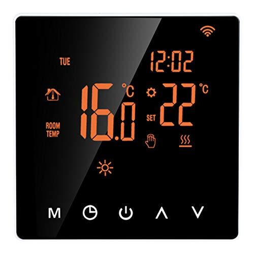 Termostato Inteligente de 230 V ca Pantalla LCD Dispositivo de Control InaláMbrico A Distancia Pantalla TáCtil TeléFono Digital Ajuste Multimodo Equipo De Inteligencia Moderno