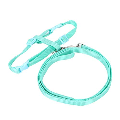 YOUTHINK Kleintier-Gehleine Pet Rabbit Harness Lead Leash für Chinchilla-Meerschweinchen-Hamster