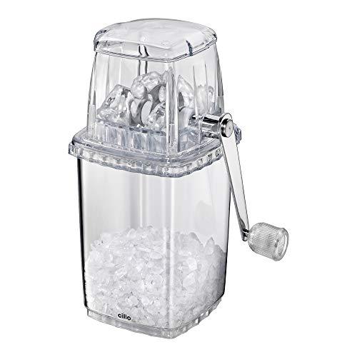 Cilio Basic - Picador de hielo manual, color negro y transparente