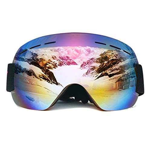 ZPEE Skibrillen Snowboardbrillen Gang Ski Sport Erwachsene Brille reduziert UV-Doppel-Objektiv, eine Vielzahl von Optionen Schneesportbrille (Color : E)